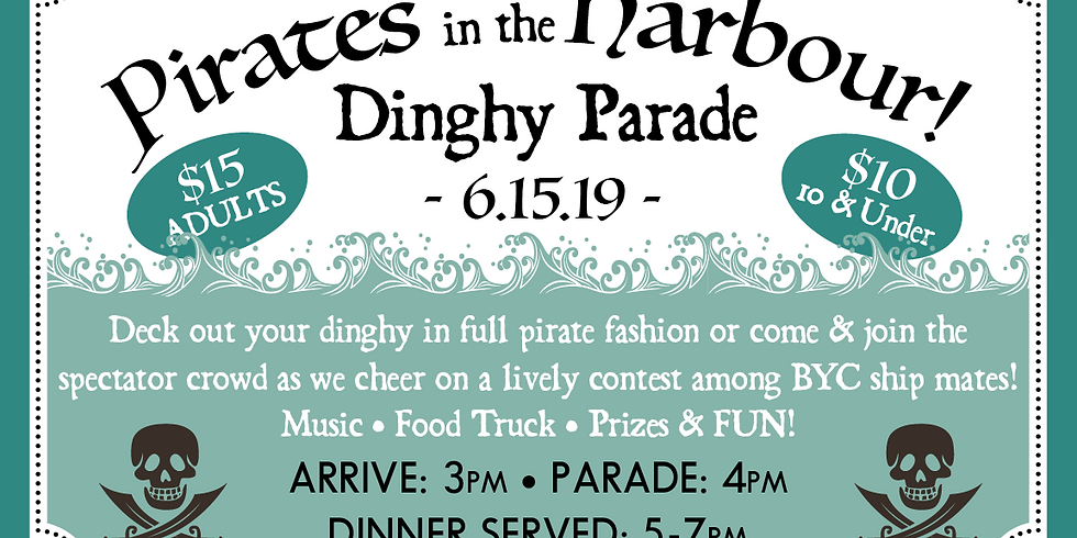 Pirates in the Harbour Dinghy Parade