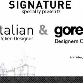 Signature Kitchen Collaborates with Italian Kitchen Designers