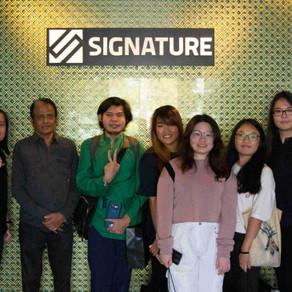 Interior Architecture students from Sunway University visits Signature Kitchen HQ at Kota Damansara