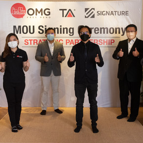 Signature Group & TAFI Group sign MOU for Strategic Collaboration to penetrate local project market