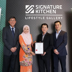 SIGNATURE INTERNATIONAL BECOMES MALAYSIA'S FIRST KITCHEN MANUFACTURER TO OBTAIN COC CERTIFICATION