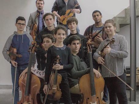 À l'heure des Jeunes Ensembles :  L'Ensemble Spiritelli