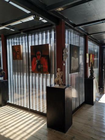 Vue de l'exposition Delphine ALLIENS Espace Darius, 2021