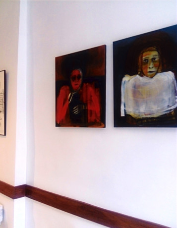 Vue de l'exposition Espace Gibert, 2019