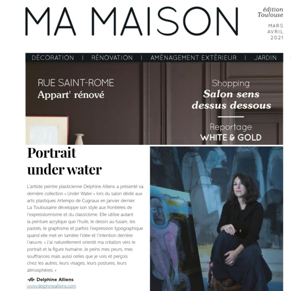 Ma Maison magazine mars-avril 2021