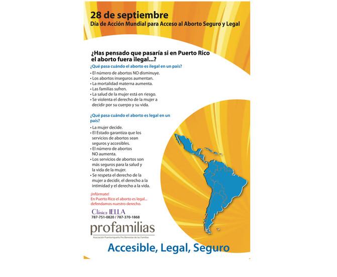 Día de Acción Mundial para Acceso al Aborto Seguro y Legal