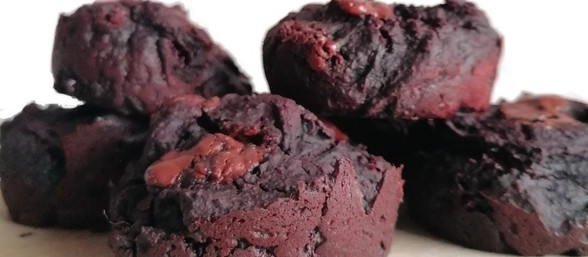 Beetroot chocolate muffins (GF)
