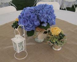 Guest table center piece