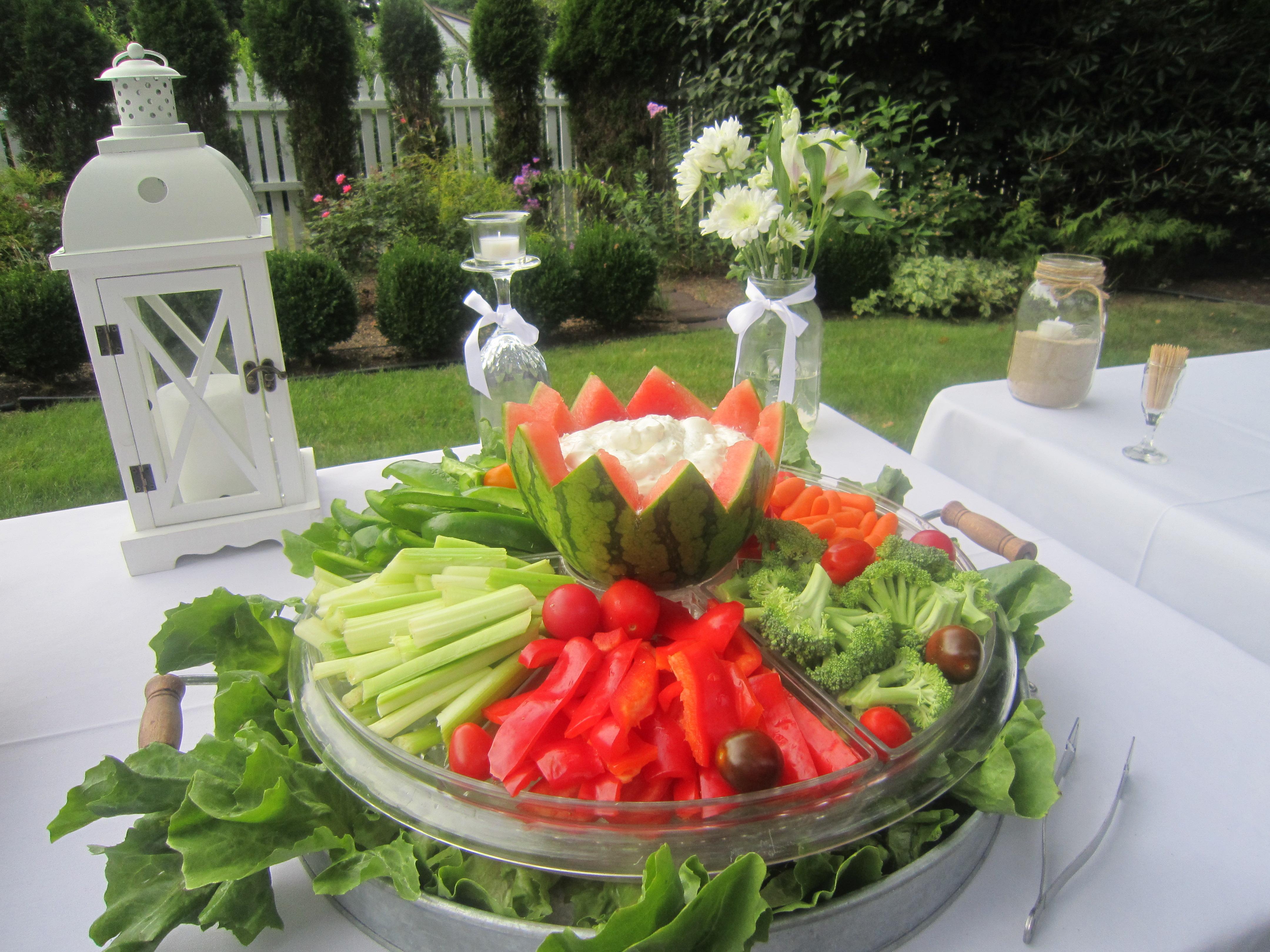 Small veggie platter