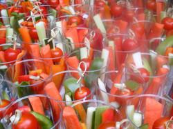 Veggie Cups Closeup