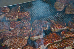 Charcoal Grilled Steak!