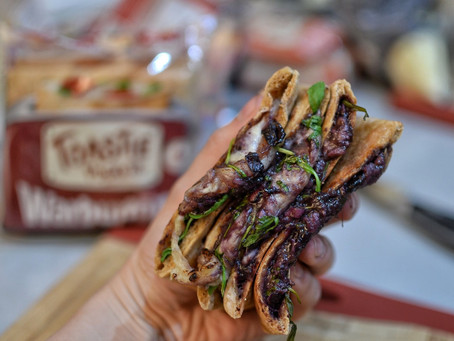 Recipe: Balsamic Blueberry Cheese Toasties
