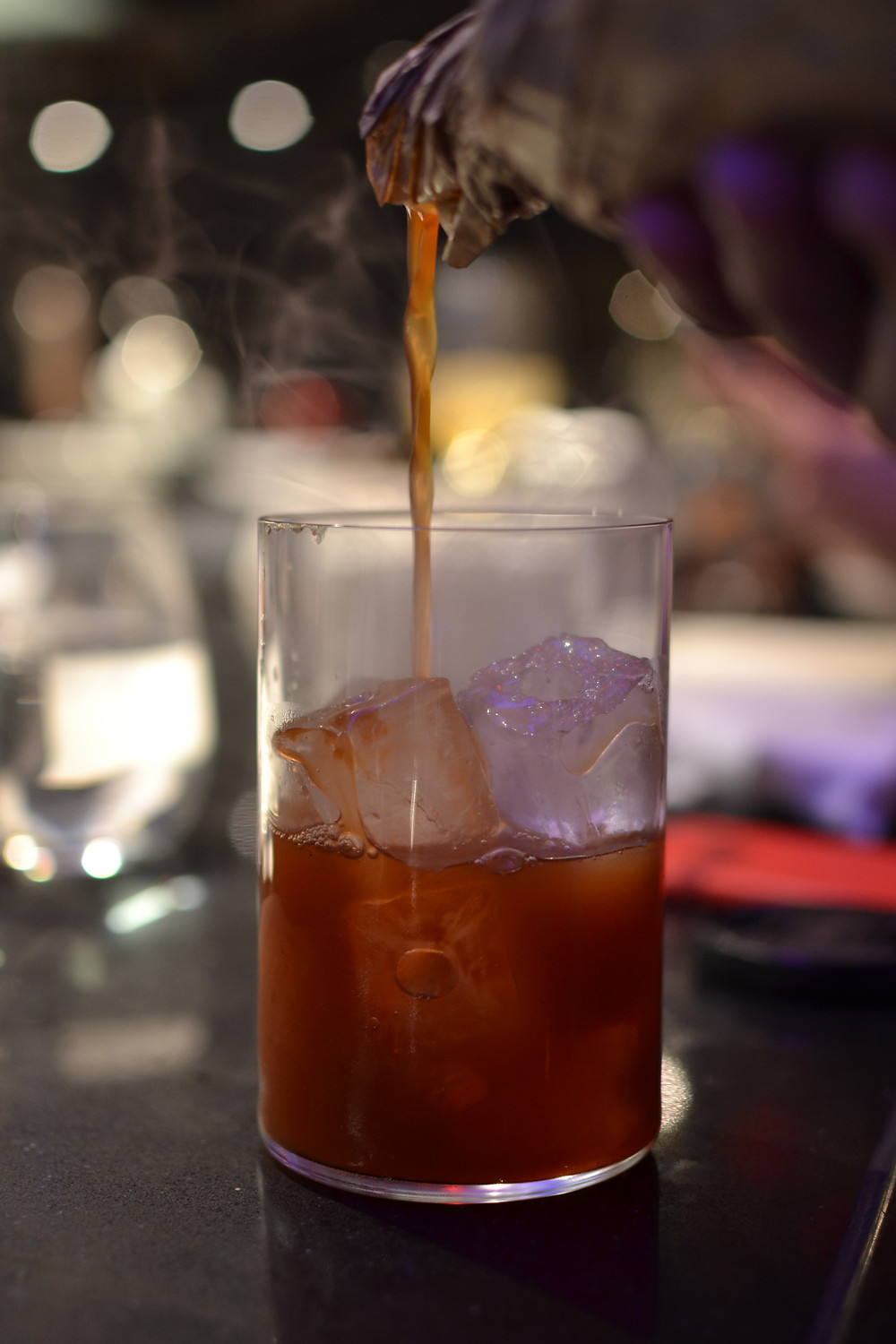 Rum and coke, without any actual coke!