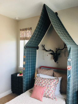 Girls Camp Bed