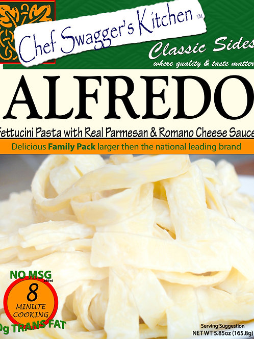 Chef Swagger's Kitchen Alfredo Pasta with Real Parmesan & Cheese Sauce