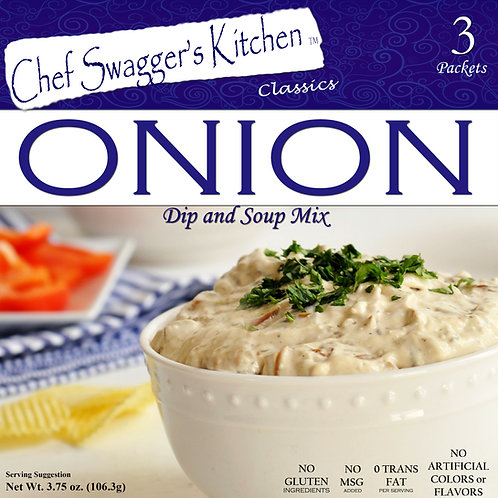 Chef Swagger's Kitchen Onion Soup & Dip Mix