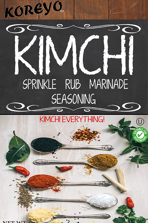All Natural Swagger Kimchi Seasoning