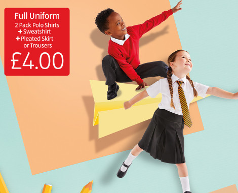 Aldi school uniform offer