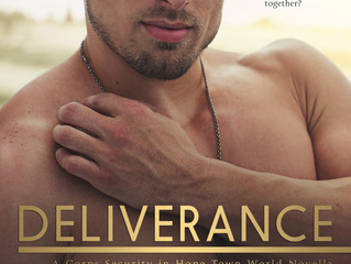 Deliverance - Cover, Title, & Blurb Reveal