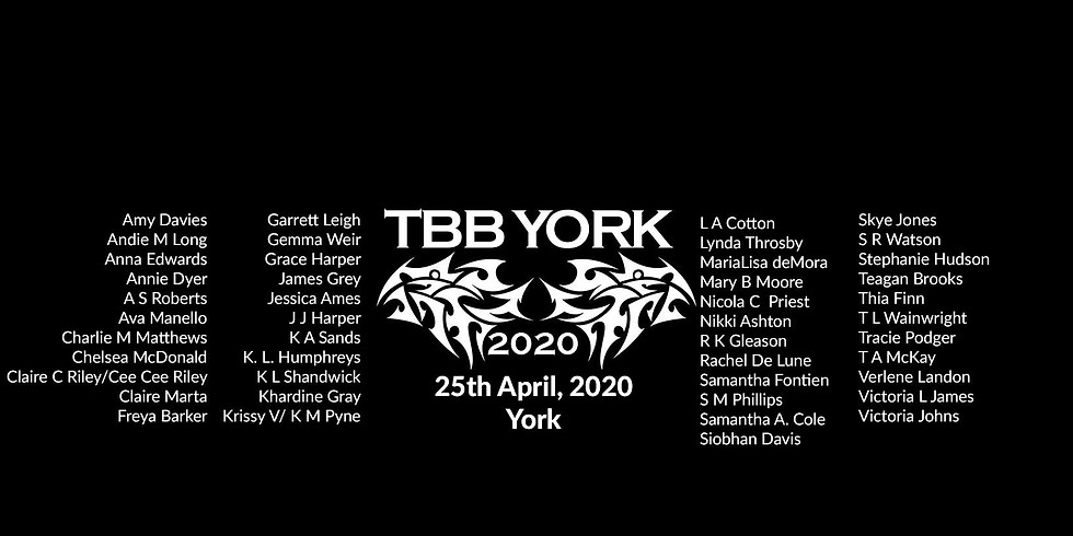 Tattooed Bad Boys Author Event 2020