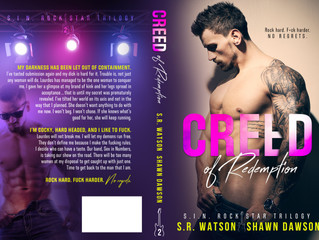 Creed of Redemption Cover Reveal, Release Date, & Giveaway!