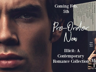 """Illicit: A Contemporary Romance Collection feat. """"Mister English""""        Excerpt Reveal"""