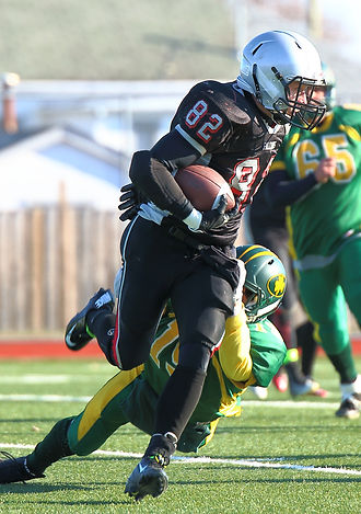 Sports Photography Thunder Bay, ON, St Patrick Fighting Saints vs the St Ignatius Falcons High School Football