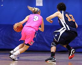 Sports Photography Thunder Bay, ON, Blaze vs  LU Thunderwolves Women's