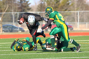 Football Photography Thunder Bay, ON, St Patrick Fighting Saints vs the St Ignatius Falcons