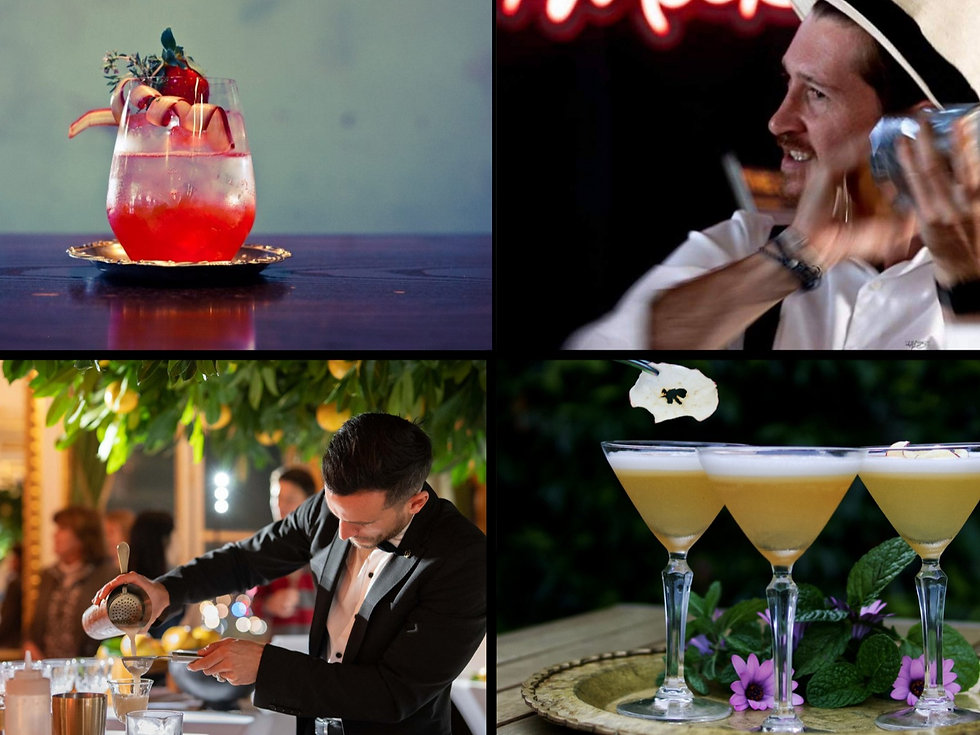 Cocktails and private events