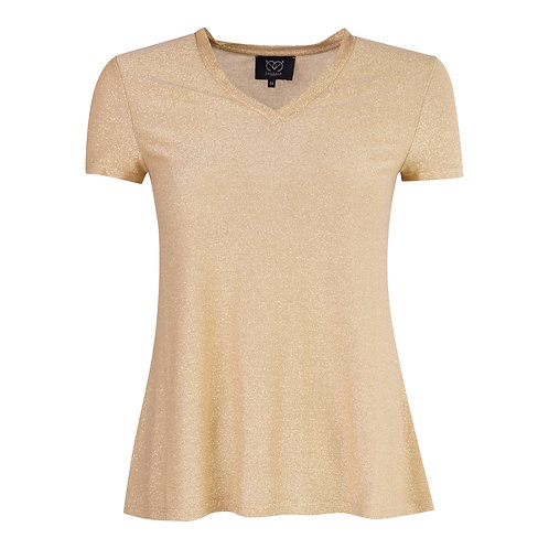 T-shirt Tina Lilou - Beige
