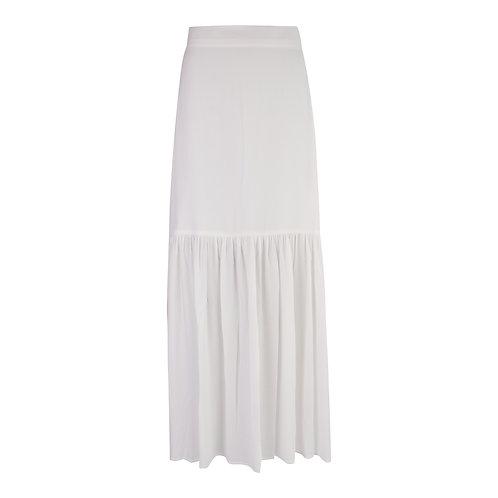 Skirt Lolita Olive - White