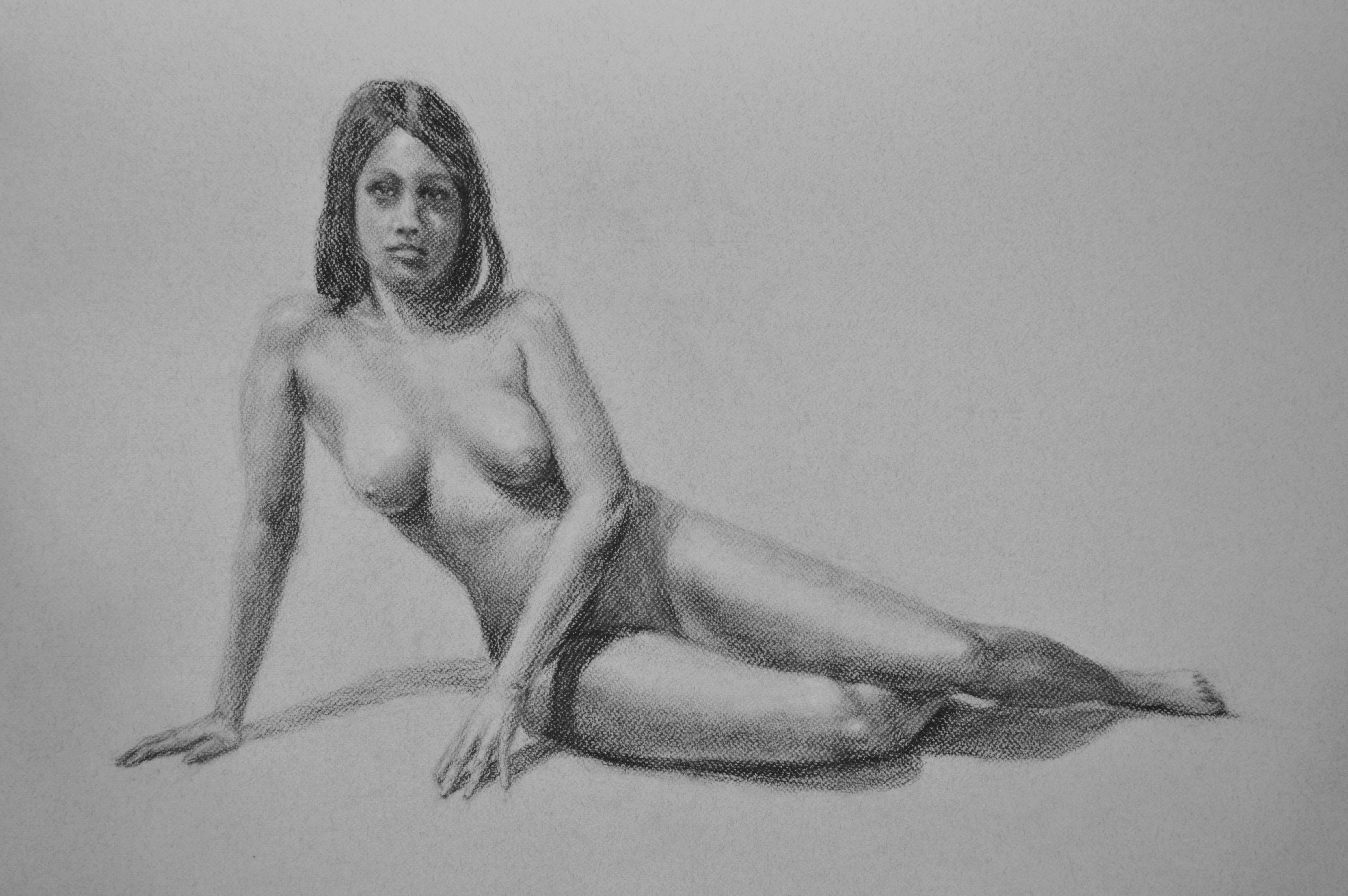 Anne, reclining