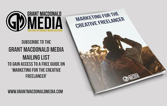 Grant Macdonald Media, Marketing for the Creative Freelancer book