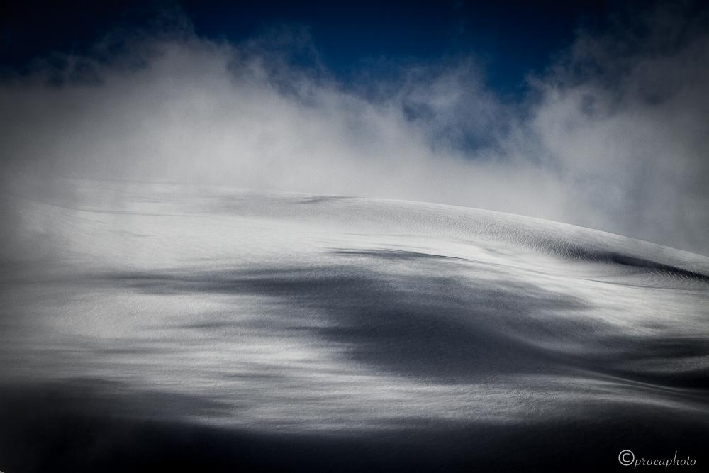 glaciars & clouds