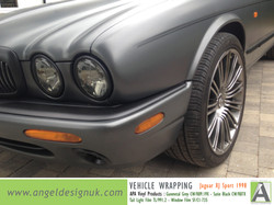ANGEL DESIGN UK Vehicle Wrapping Jaguar XJ Sport 1998 Gunmetal Grey Pic 5