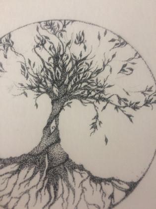 Tree of life - tekening