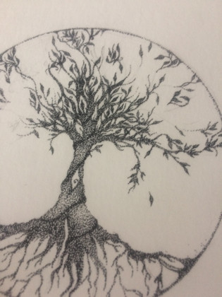 Tree of life - tekening