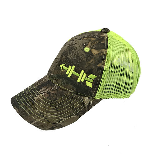 Green Camo Mesh Hat