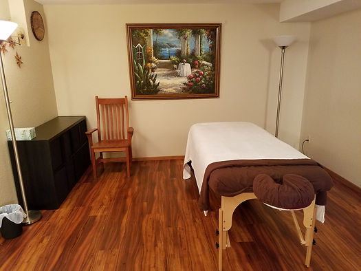Better in Balance treatment room