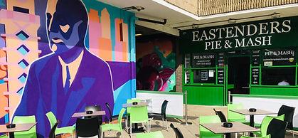 Eastenders Pie and Mash London