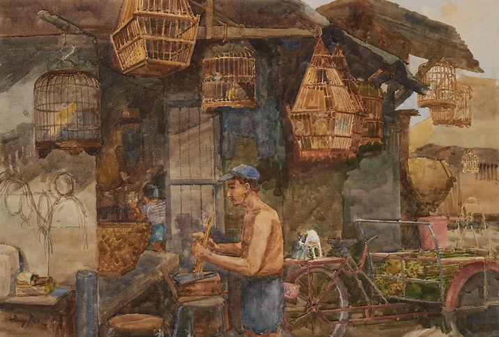 Tong Chin Sye_Sultan Gate Satay Man (198