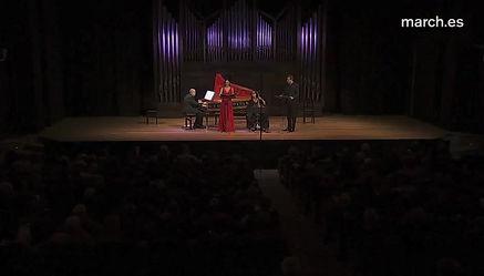 Miro a Matilde el Amor / Té y Sagau / Fundación Juan March Madrid / Carlos Mena / Ana Quintans / Ruth Verona / Carlos Garcia-Bernalt