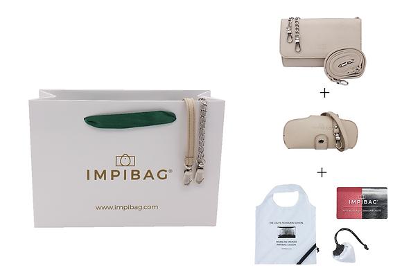 IMPIBAG Set Beige