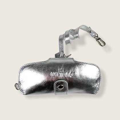 Brillenetui Light Silber