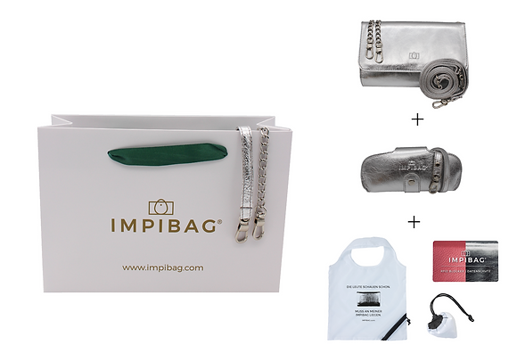 IMPIBAG Set Light Silber