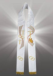 North East Chuch Supplies Embroidered Priest Stoles
