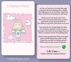North East Church Supplies Prayer Cards