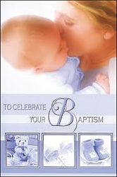 North East Church Supplies Baptism Card
