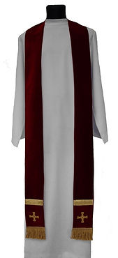 North East Church Supplies Embroidered St Cuthbert Cross Priest Stoleswf.jpg